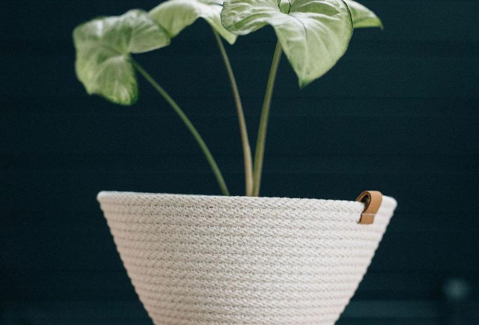 Woven Handmade Basket / Planter