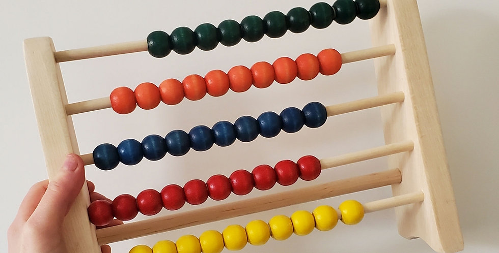 Colorful Wooden Abacus Counting Toy for Kids