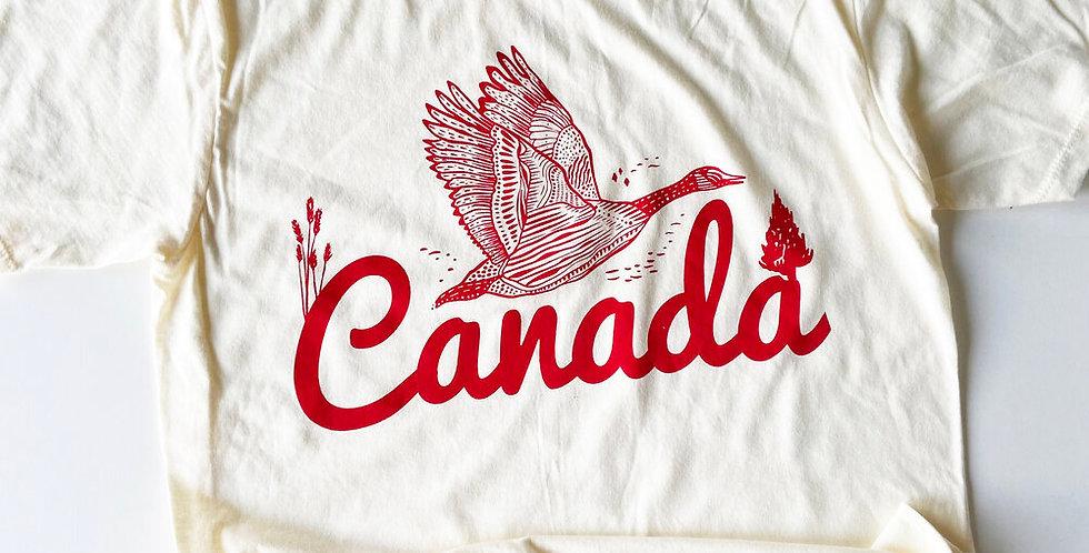 Canada Soft Cotton Tee