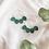 Thumbnail: White Birch Handmade Petal Earrings