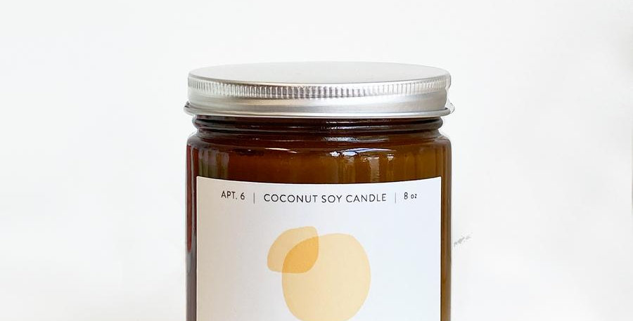 Apt 6 Skincare Coconut Soy Candles
