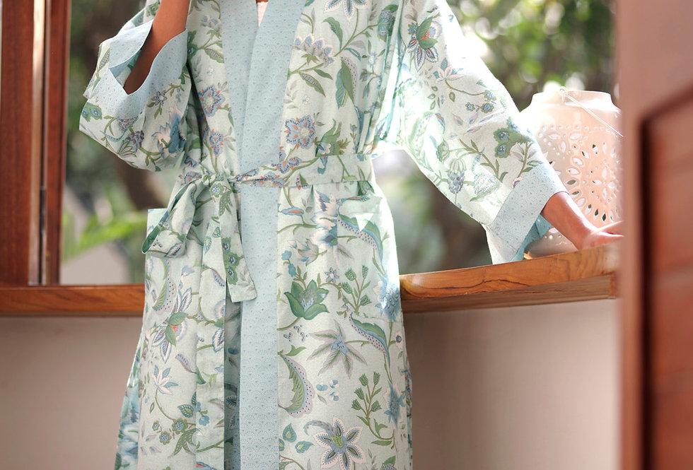 Kerala Azul Kimono