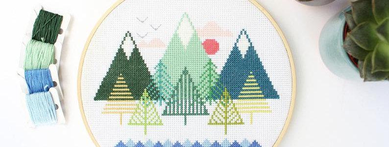 """7/8"""" Cross Stitch Kits"""