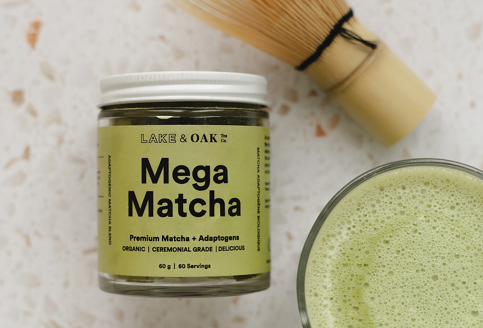 Lake & Oak Mega Matcha