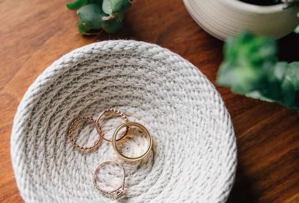 Woven Handmade Ring Dish