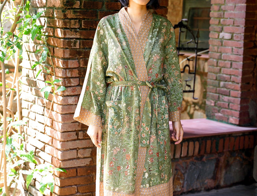Olive Kimono