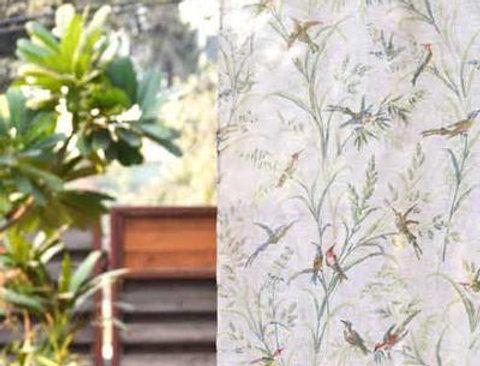 Hummingbird Curtain Panel