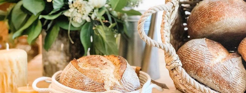 Woven Handmade Bread Basket