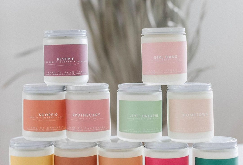 Land of Daughters Soy Candles