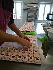 atelier macarons Saint Preuil, Charente
