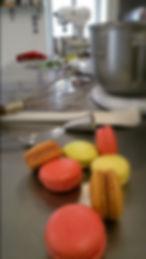 macarons , atelier ,Saint Preuil charente