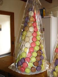 pyramide de macarons