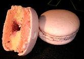 macaron litchee rose framboise