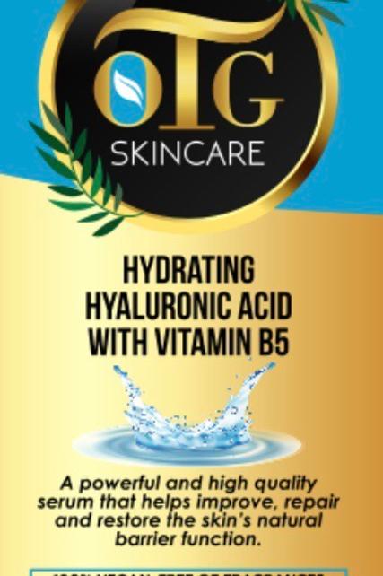 OTG Hyaluronic Acid with Vitamin B5 2 oz