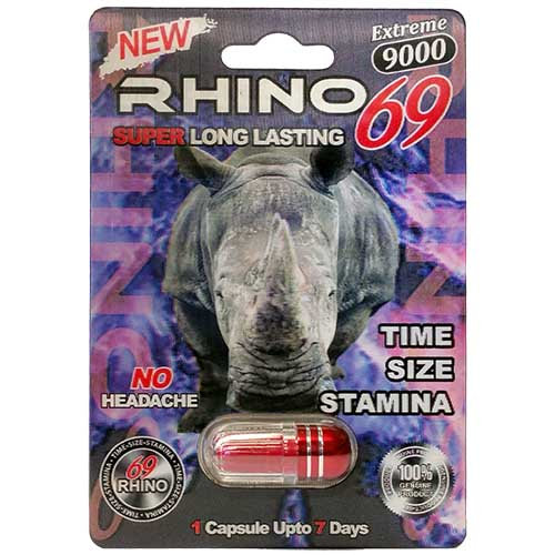 Rhino 69 Male Enhancement Pill