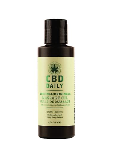 CBD Daily Massage Oil 4OZ