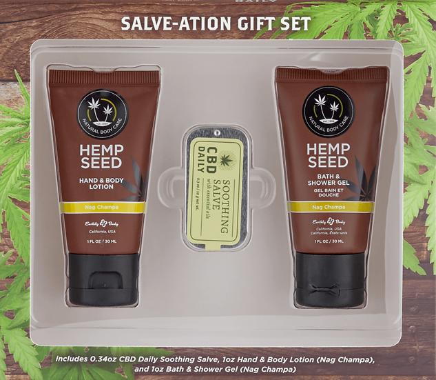 CBD Daily Salve-tion Gift Set