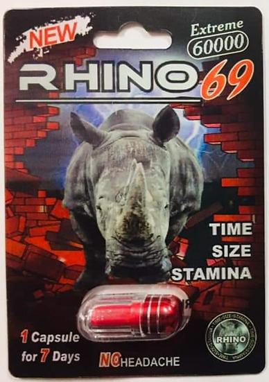 Rhino 69 Extreme 6000 Pill