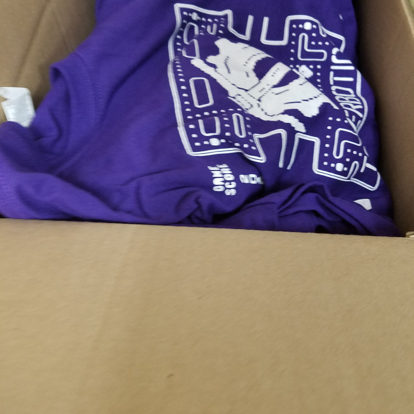 Shirts are here