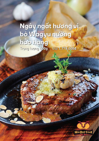 More is never enough for perfect grilled wagyu beef at hanoi moo beef steak chain