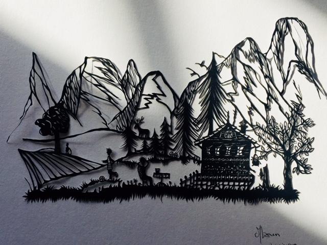 Un été à la montagne