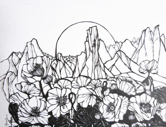 Au delà des montagnes