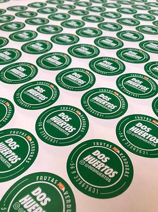 Stickers troquelado metro cuadrado