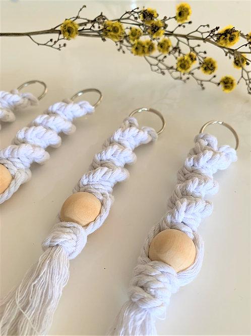KEYCHAIN - Wooden Bead