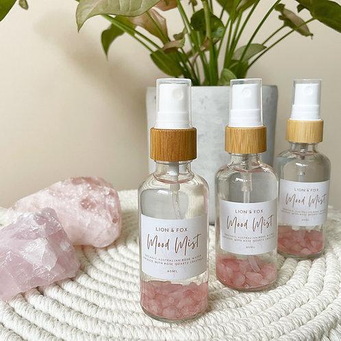 Mood Mist - Rose Water w/ Rose Quartz
