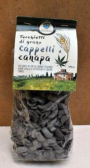 Torchietti di Grano duro Cappelli e Canapa (500 gr)
