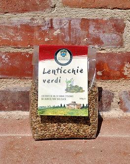 Lenticchie Verdi (500gr)