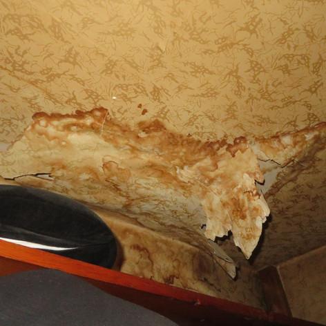 Old water damage