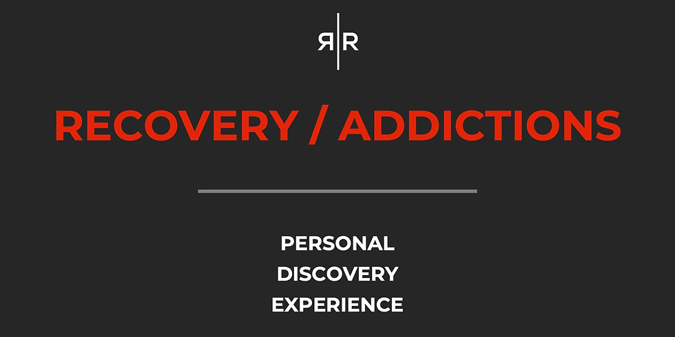 RECOVERY / ADDICTIONS - PDE