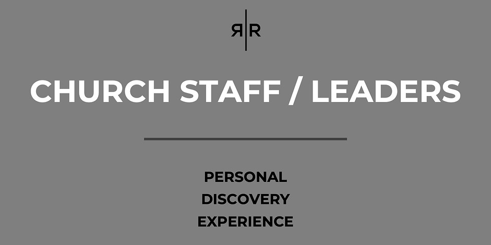 CHURCH STAFF / LEADERS - PDE