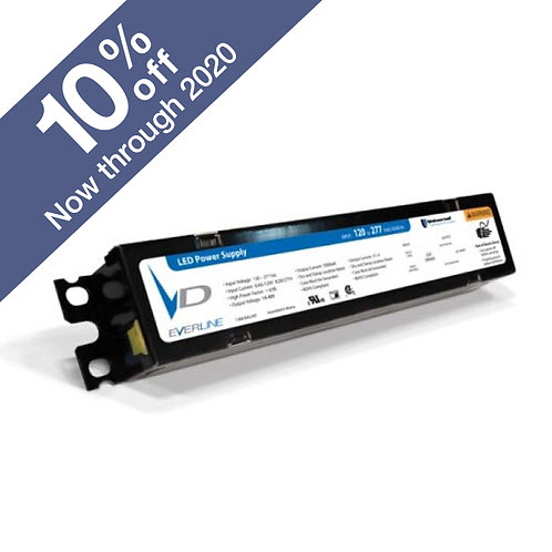 PureView RDL 100W 24V Dimmable LED Driver