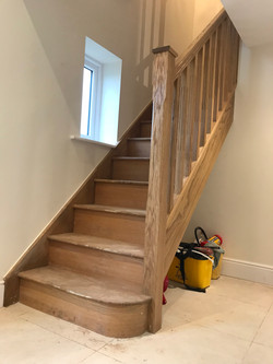 Oak Stairs B1 Flemming