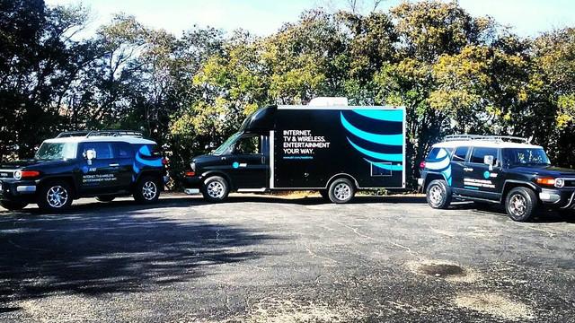AT&T Fleet Wraps