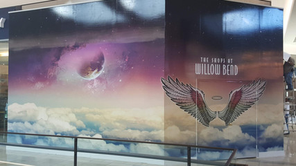 Shops At Willow Bend Wall Mural