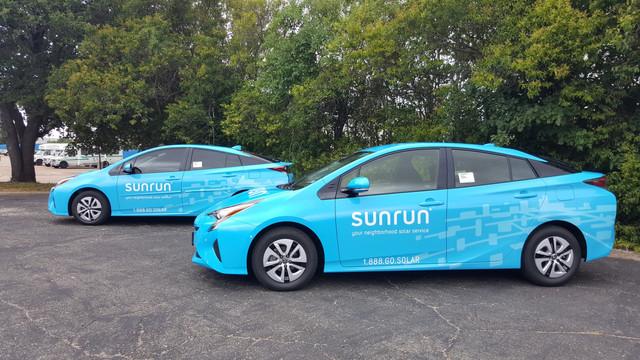 Sunrun Fleet Wraps