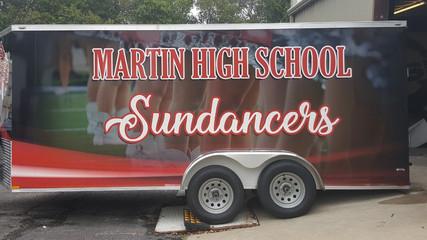 Martin Sundancers Trailer Wrap