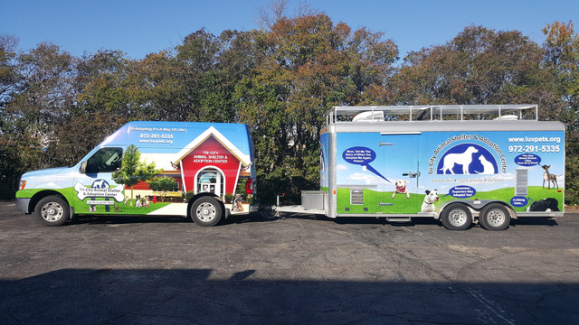 Tri-City Animal Shelter Van & Trailer Wrap