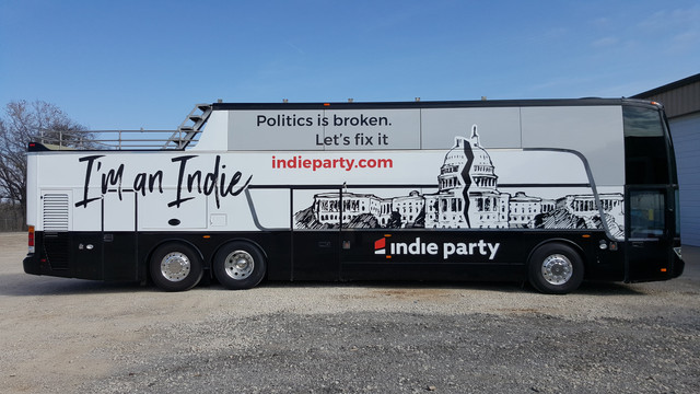 Indie Party Bus Wrap