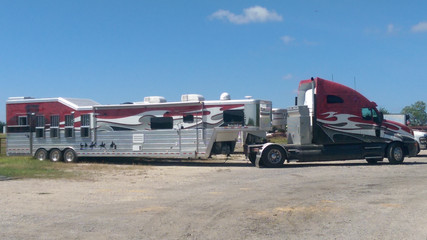 Rodeo Extreme Truck & Trailer Wrap