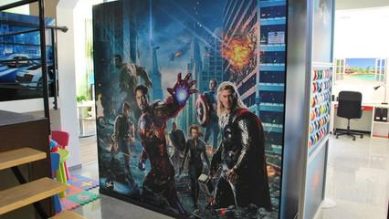 Avengers Wall Wrap