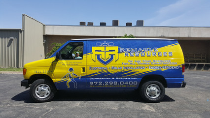Reliable Resources Van Wrap