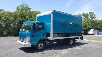 Lone Star Tent & Events Box Truck Wrap