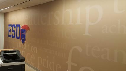 ESD Wall Mural