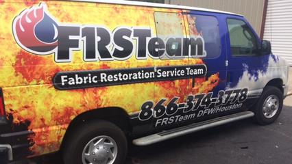 First Team Van Wrap