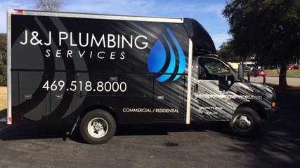 J&J Plumbing Box Truck Wrap