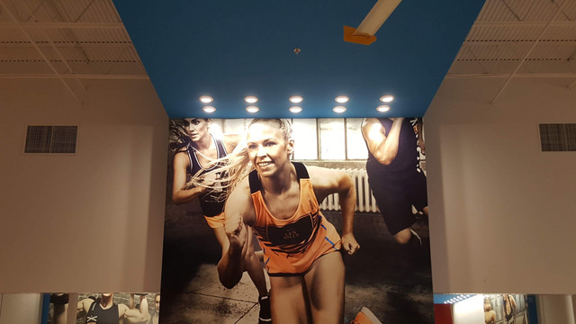Fitness Connection Wall Wrap